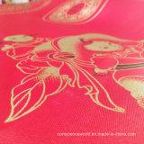 Zerstreung 100%Polyester druckte Satin für Steppdecke-Deckel 80GSM