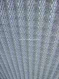 Da tela do aço inoxidável de fio do engranzamento do frame filtros de ar de alumínio Washable pre