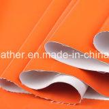 Mirror Patent Synthetic PU Leather para sapatos femininos Hw-S1704