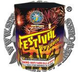Schuss-Kuchen-Feuerwerke des Festival-19