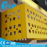 Подгоняйте защитный чехол кондиционера конструкции пефорированный металлом