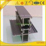 Isolação térmica perfis de alumínio de Windows do revestimento do pó e das portas