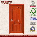 실내 단 하나 단단한 나무로 되는 문 (GSP6-007)