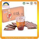 Ganoderma Reishi Lucidum trinkender Tee vom Kräuterauszug