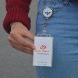 Carretes promocionales de encargo de la divisa del sostenedor de la identificación para las enfermeras