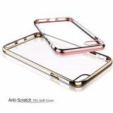 Transparentes suaves claros electrochapan la caja de TPU para el iPhone 7 7plus