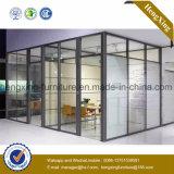 (NS-NW004) Cloison de séparation en aluminium de poste de travail de meubles de bureau de conception de mode