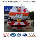 caminhão de petroleiro da gasolina do euro 3 de 14cbm Dongfeng Kinrun com o motor Diesel de Cummins