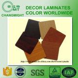 Laminados de madera de la presión del grano HPL /High
