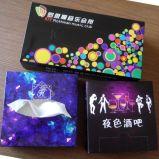 Doos van het Karton van de Kleur van de Leverancier van China de Goedkope met ISO9001