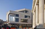 Серые плитки фасада Terracotta с плакированием Rainscreen