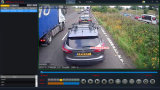720p Steun DVR 4G/GPS/WiFi van het Voertuig van de Auto HD de Mobiele