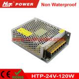24V-120W alimentazione elettrica non impermeabile costante di tensione LED