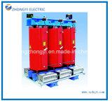 乾式の電力配分の電気変圧器