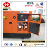 Conjunto de generador diesel usado hogar silencioso de potencia del motor 10-37.5kVA/8-30kw de Quanchai