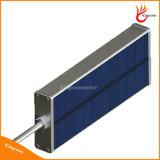 태양 벽 빛 옥외 알루미늄 합금 48 LED 마이크로파 레이다 센서 방수 에너지 절약 태양 램프