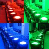 RGB 3in1 Binnen LEIDENE van de MAÏSKOLF van het Stadium 100W Licht van het PARI