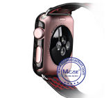 Apple 시계 시리즈를 위해 가장 새로운 Napov 2개의 42mm 탄소 섬유 덮개 케이스