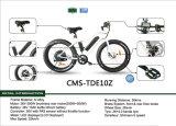 schwanzloser hinterer Motor500w faltendes E-Fahrrad (CMS-TDE10Z)
