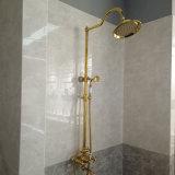 Faucet ливня классицистического высокого качества золота латунный