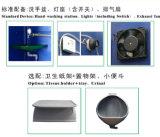 Tocador prefabricado de lujo del Portable de la descarga de las casas de China