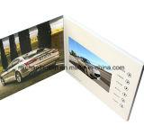 4.3 '' TFT LCD que hace publicidad del folleto de las tarjetas del folleto del saludo (VC-043)