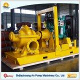 Pompa ad acqua diesel di grande di flusso di doppia aspirazione caso orizzontale di spaccatura