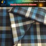 Tessuto dell'assegno tinto filato della saia del poliestere per il Windbreaker/indumento