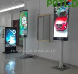 Panneau polychrome d'Afficheur LED de pouce P3 de la résolution 60 pour la publicité extérieure de Pôle