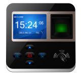 Sistema caliente del control de acceso de la huella digital RFID de la pulgada 800 de la venta 2.4 de Realand M-F211