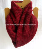 Knit обратного Исландии шарфа способа (Hjs29)