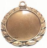 La medaglia in bianco per la strumentazione di sport, può aggiungere l'autoadesivo. Filatore di irrequietezza