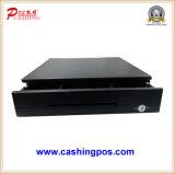 Cajón del efectivo de la máquina de la posición con la impresora Rj11 de la pantalla táctil del soporte y de la computadora portátil