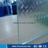 Claro Moru modelado de vidrio con CE & ISO9001 (3-8mm)