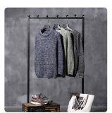 Camisola feita malha da tela do casaco de lã da coberta jacquard feito sob encomenda quente do vestido do homem