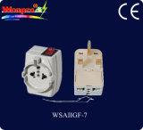 Универсальное Переходник-Гнездо перемещения, штепсельная вилка (WSAIIGF-9)