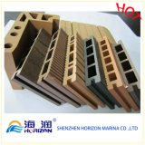 Stevige OpenluchtJachthaven WPC Decking in China/Houten Plastic Samenstelling