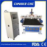 Máquina de la carpintería del CNC con el eje rotatorio 3D