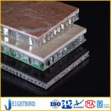 China-Fabrik kundenspezifisches Entwurfs-Stein-Aluminiumbienenwabe-Panel