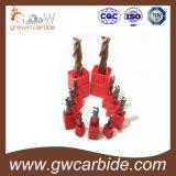 Твердые торцевые фрезы карбида HRC60 для стали вырезывания