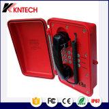 Teléfono a prueba de mal tiempo resistente/teléfono industrial impermeable del teléfono ferroviario