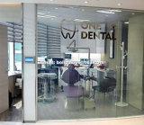 病院またはクリニックのオフィスのプライバシーの区分のスマートな魔法ガラス