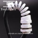 Presse-étoupe de câble IP68 en nylon spiralés protecteurs