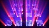 Matriz LED tri Scansione Centro Luce de la iluminación 25PCS*10W de la etapa