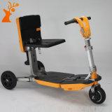 Vespa eléctrica transformable de la movilidad de las ruedas plegables de la E-Vespa tres