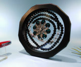 rectángulo de joyería elástico de la suspensión de la membrana 3D
