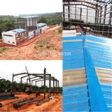 Construction en acier de structure métallique de section de H pour l'atelier, entrepôt, marché de dîner