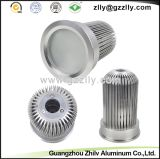 建築材料LEDアルミニウムは脱熱器の側面図を描く