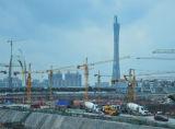 De betrouwbare en Veilige Kraan van de Toren Qtz80 (TC6013) met 6ton Maximum Lading en 60m Boom