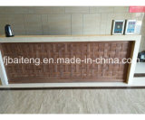 Décoration d'architecture en bois solide